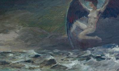 """Ангел и море"""