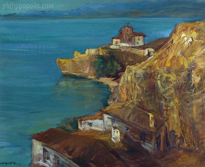 """""""Пейзаж от Охридското езеро"""""""