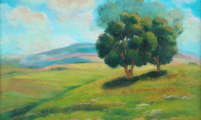 """""""Пейзаж с дървета"""""""